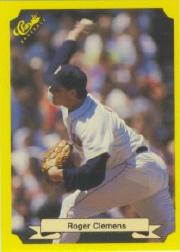 1987 Classic Update Yellow/Green Backs #114 Roger Clemens