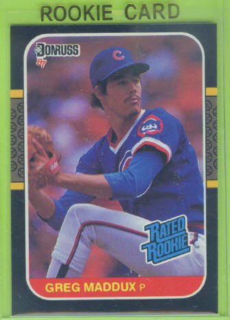 1987 Donruss #36 Greg Maddux RC