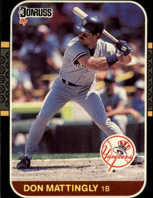 1987 Donruss #52 Don Mattingly