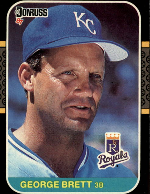 1987 Donruss #54 George Brett