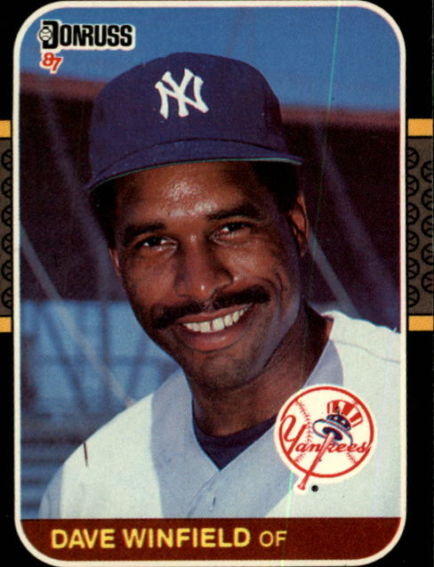 1987 Donruss #105 Dave Winfield