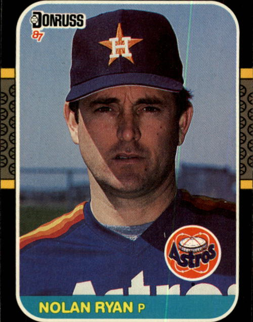 1987 Donruss #138 Nolan Ryan
