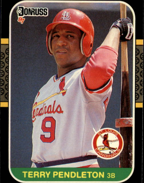 1987 Donruss #183 Terry Pendleton