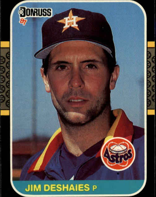 1987 Donruss #184 Jim Deshaies RC *