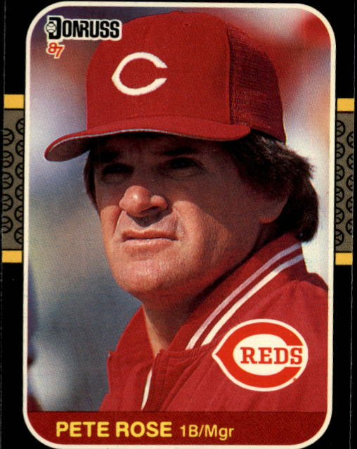 1987 Donruss #186 Pete Rose