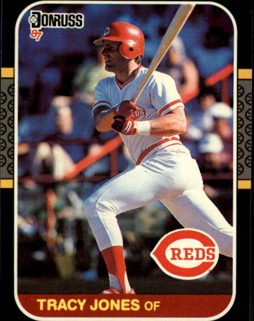 1987 Donruss #413 Tracy Jones