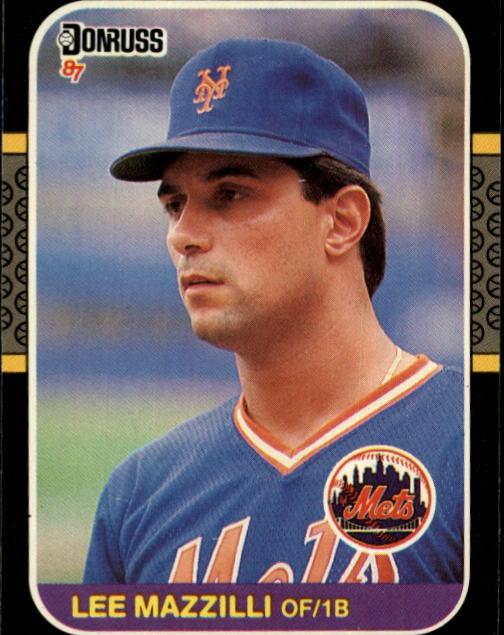 1987 Donruss #562 Lee Mazzilli
