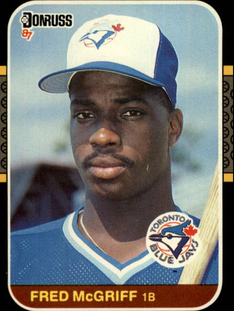 1987 Donruss #621 Fred McGriff