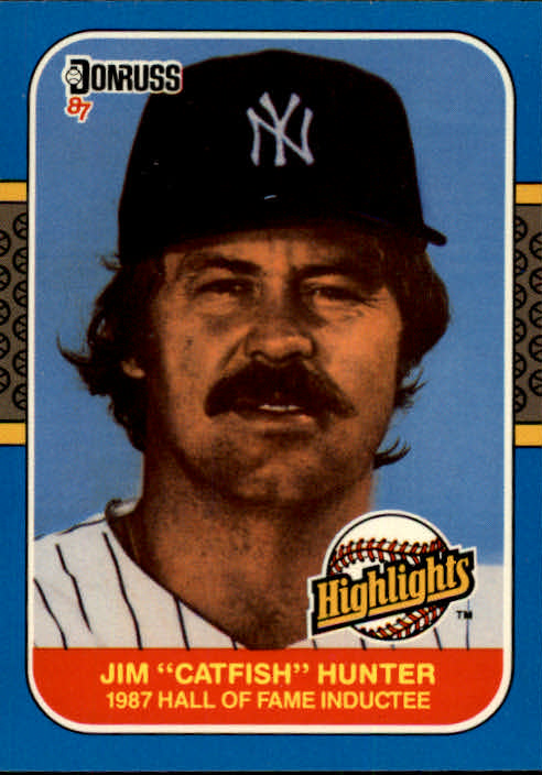 1987 Donruss Highlights #19 Jim Hunter