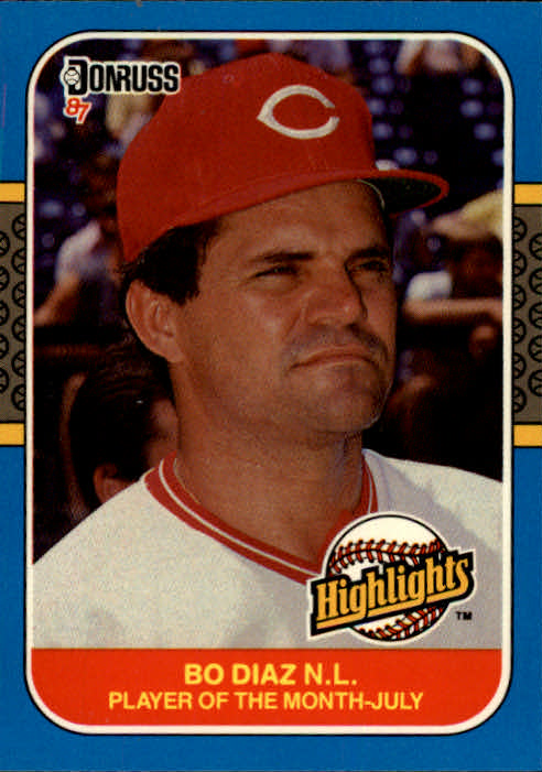 1987 Donruss Highlights #21 Bo Diaz