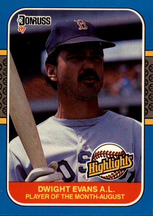 1987 Donruss Highlights #33 Dwight Evans