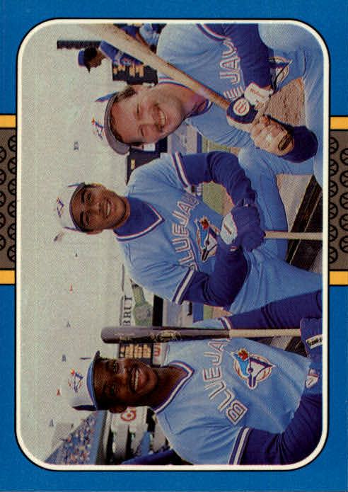1987 Donruss Highlights #39 F.McGriff/R.Ducey/E.Whitt