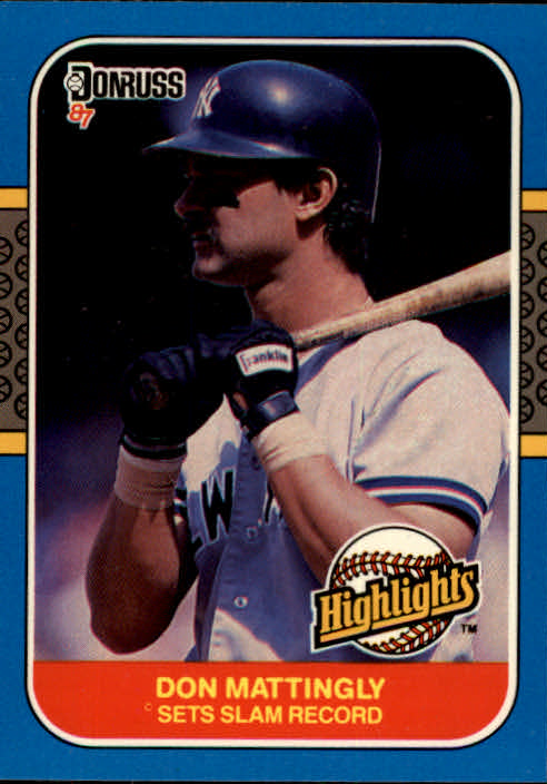 1987 Donruss Highlights #48 Don Mattingly