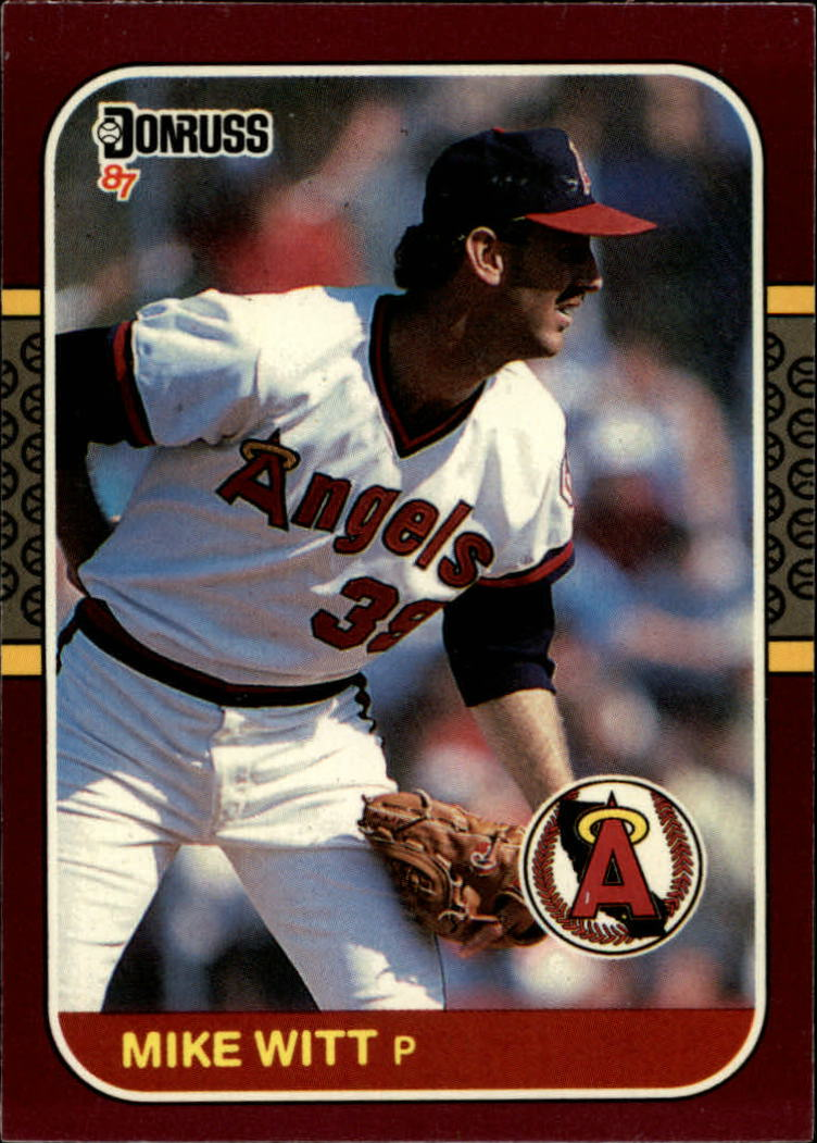 1987 Donruss Opening Day #2 Mike Witt
