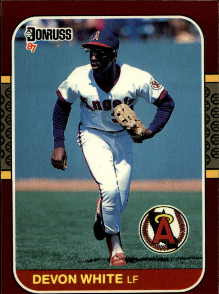 1987 Donruss Opening Day #5 Devon White