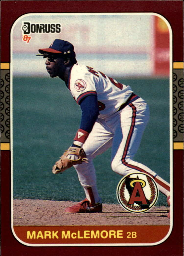 1987 Donruss Opening Day #8 Mark McLemore