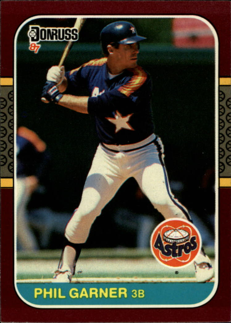 1987 Donruss Opening Day #12 Phil Garner