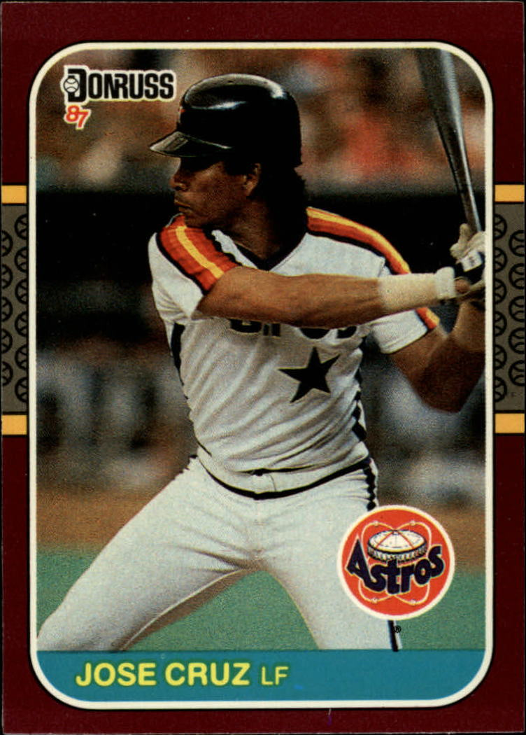 1987 Donruss Opening Day #13 Jose Cruz