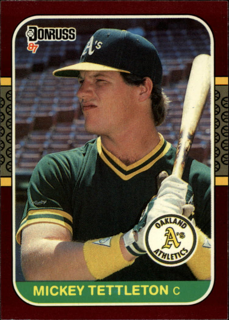 1987 Donruss Opening Day #23 Mickey Tettleton