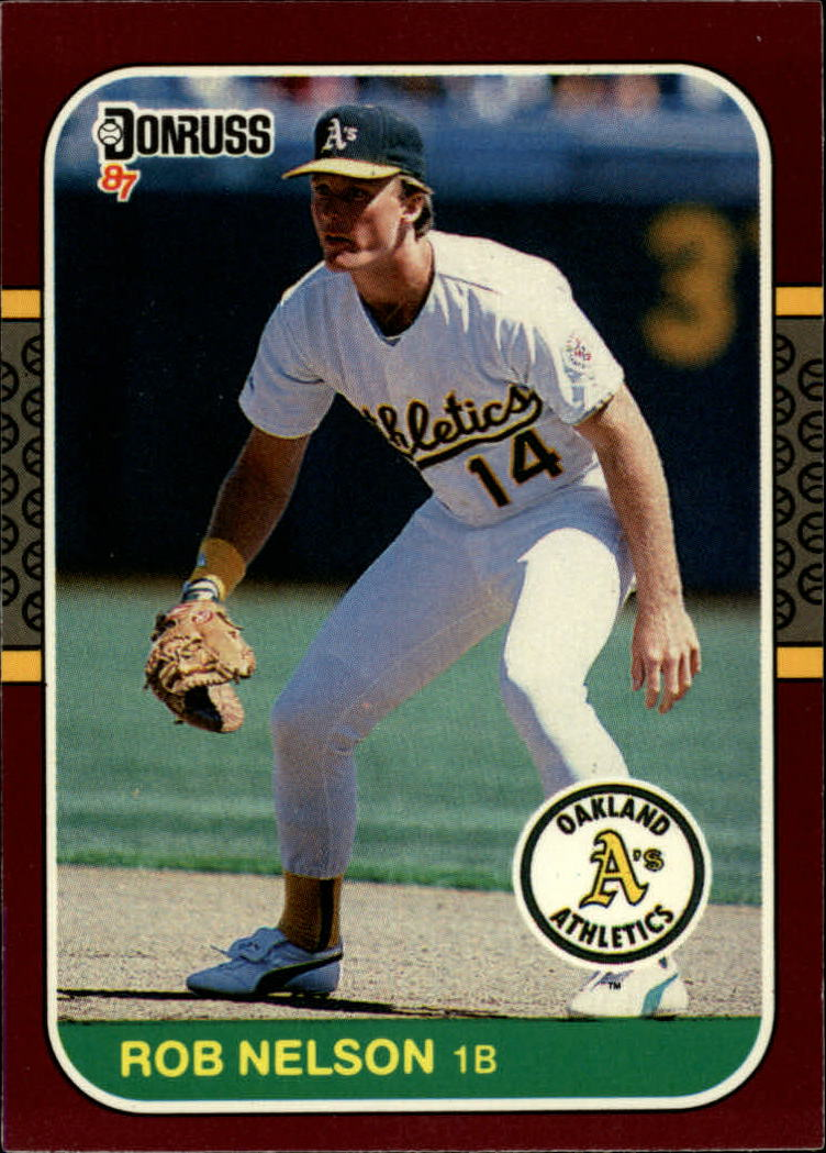 1987 Donruss Opening Day #25 Rob Nelson