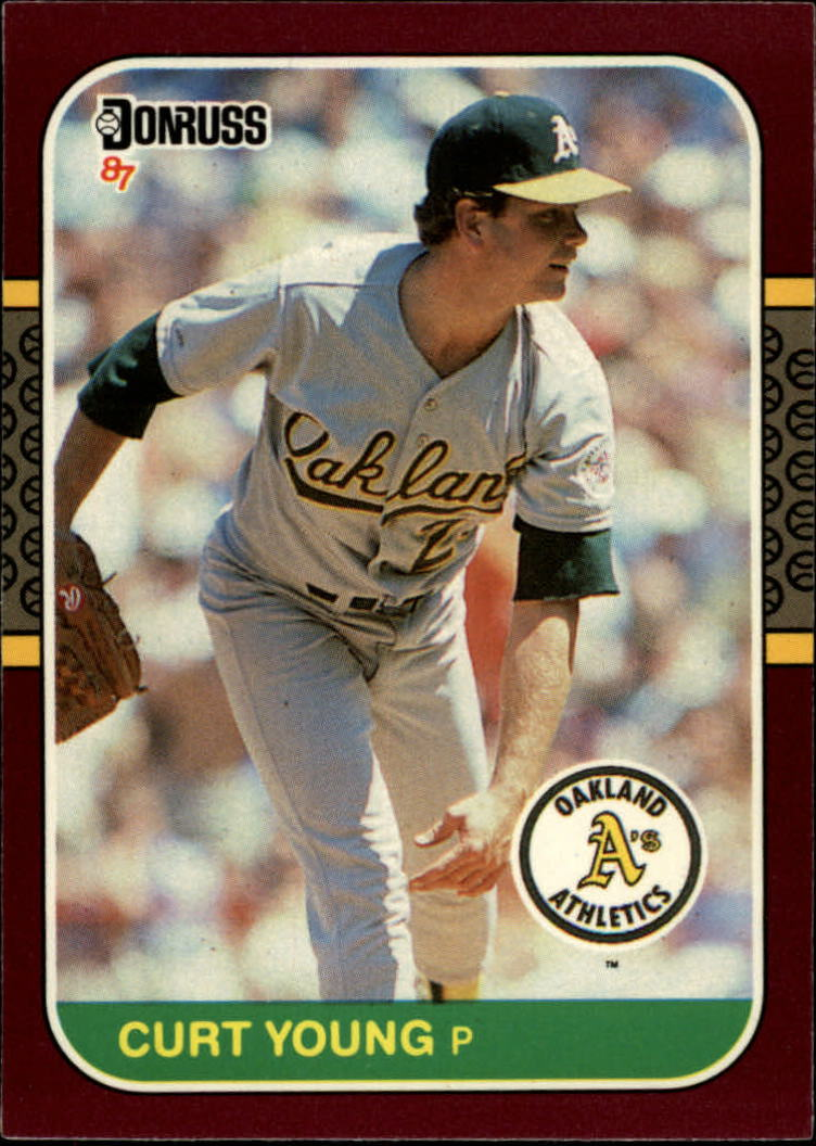 1987 Donruss Opening Day #29 Curt Young