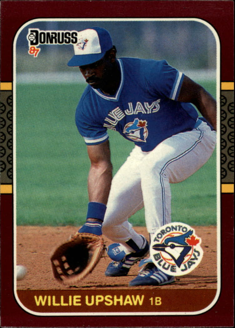 1987 Donruss Opening Day #30 Willie Upshaw