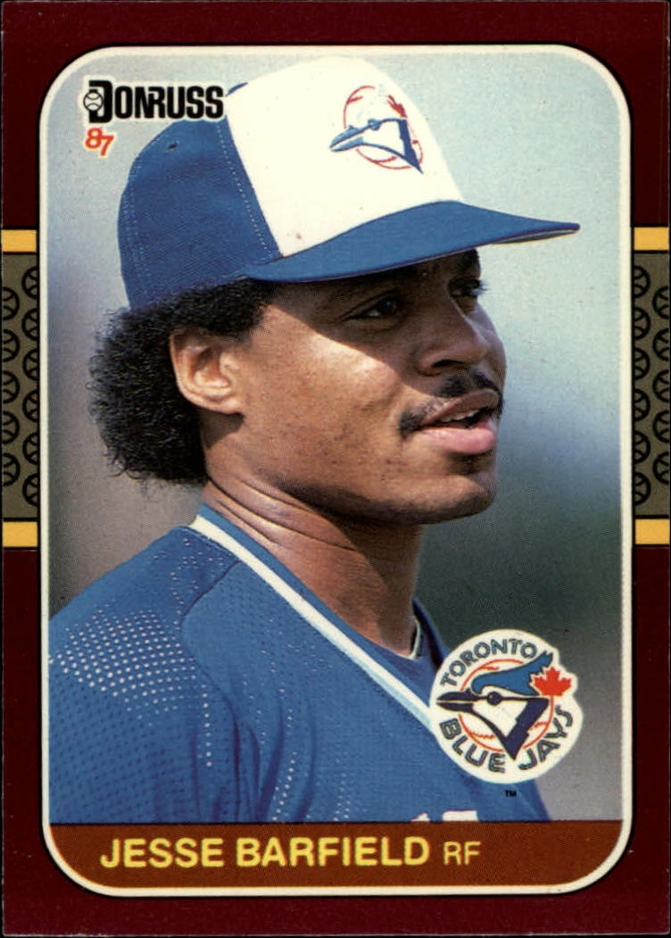 1987 Donruss Opening Day #34 Jesse Barfield