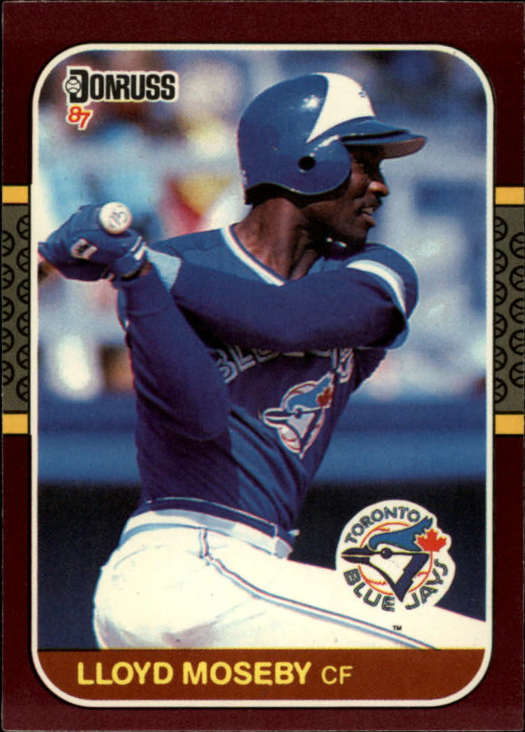 1987 Donruss Opening Day #36 Lloyd Moseby