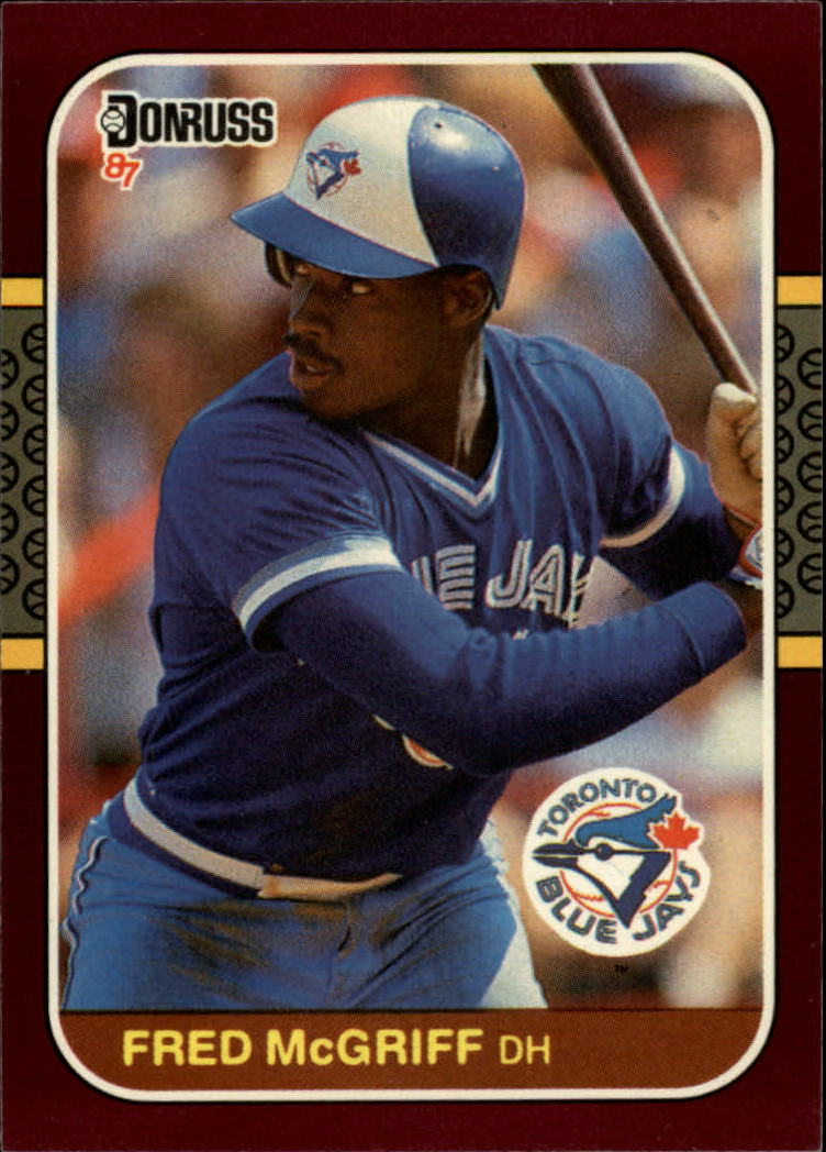 1987 Donruss Opening Day #38 Fred McGriff