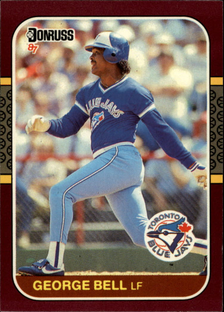 1987 Donruss Opening Day #39 George Bell