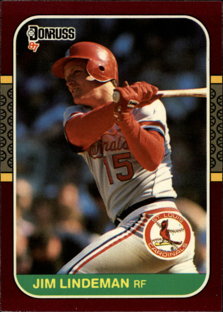 1987 Donruss Opening Day #59 Jim Lindeman
