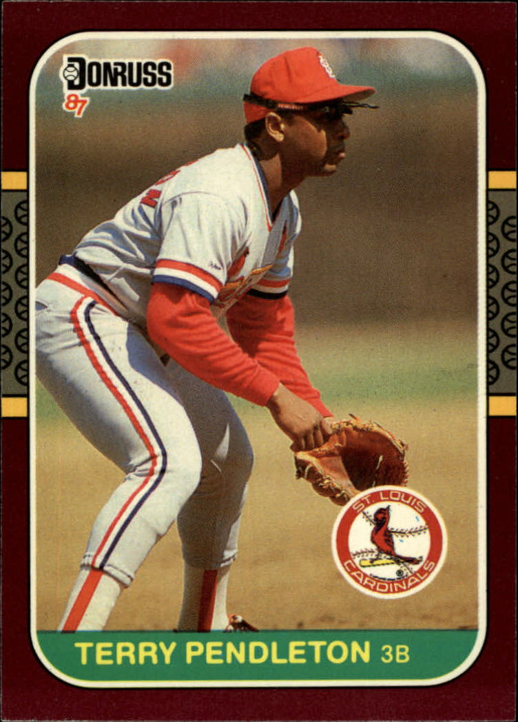 1987 Donruss Opening Day #62 Terry Pendleton