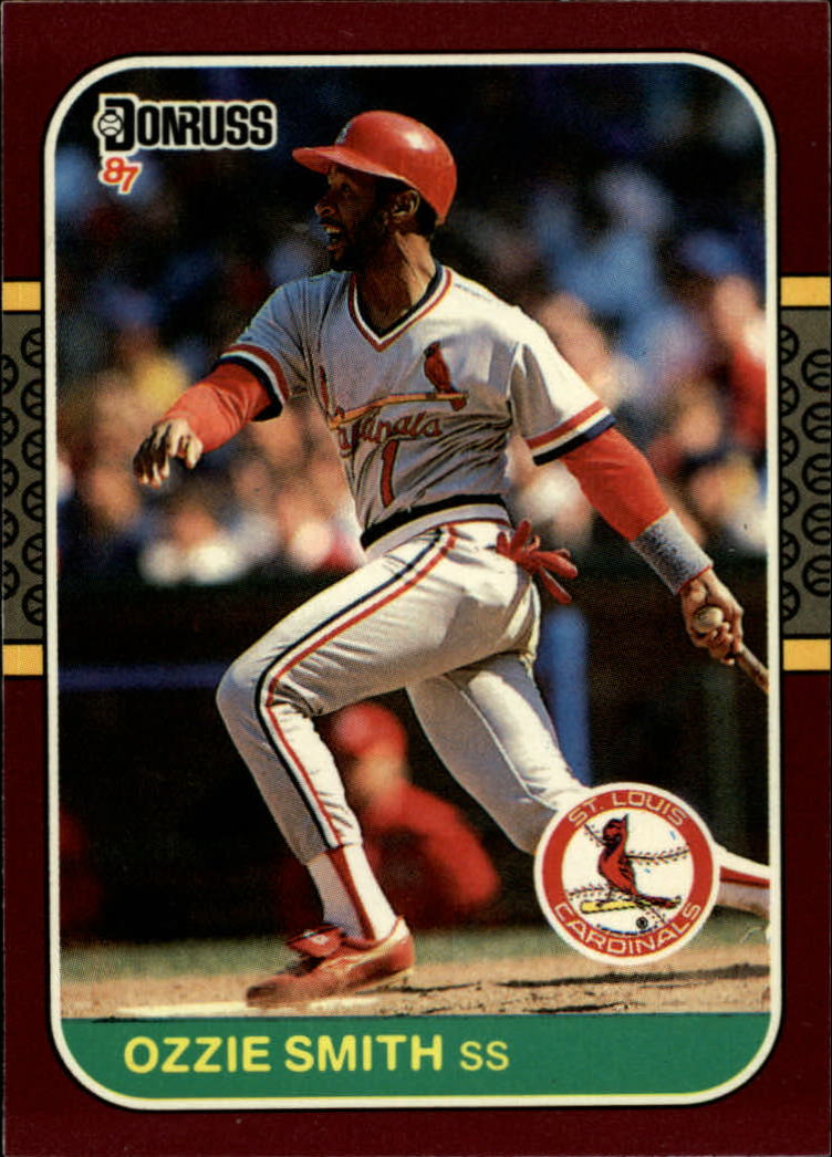 1987 Donruss Opening Day #65 Ozzie Smith