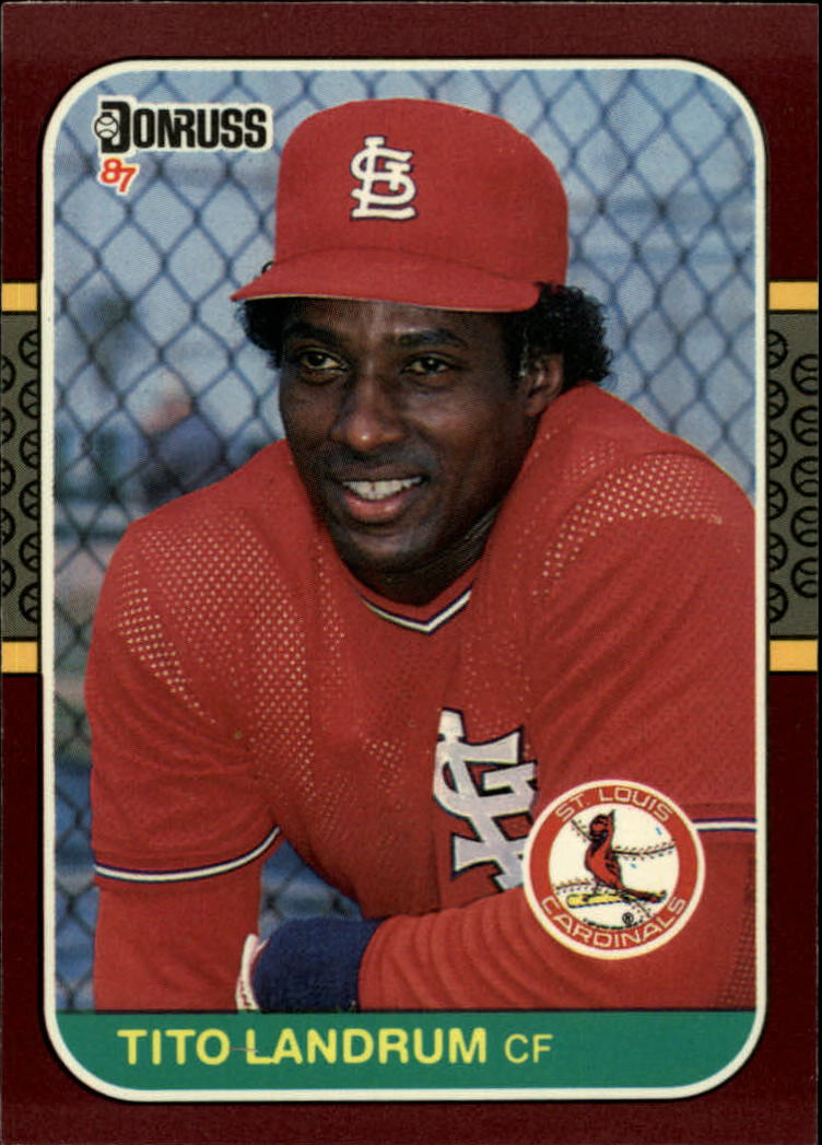 1987 Donruss Opening Day #66 Tito Landrum