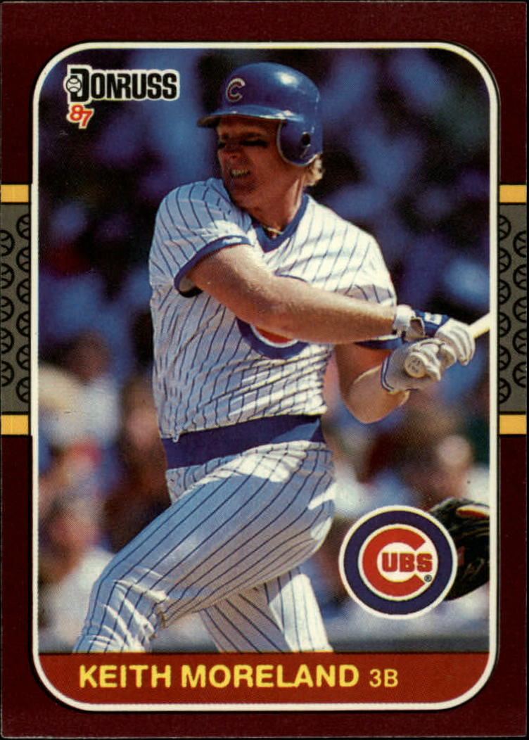1987 Donruss Opening Day #71 Keith Moreland