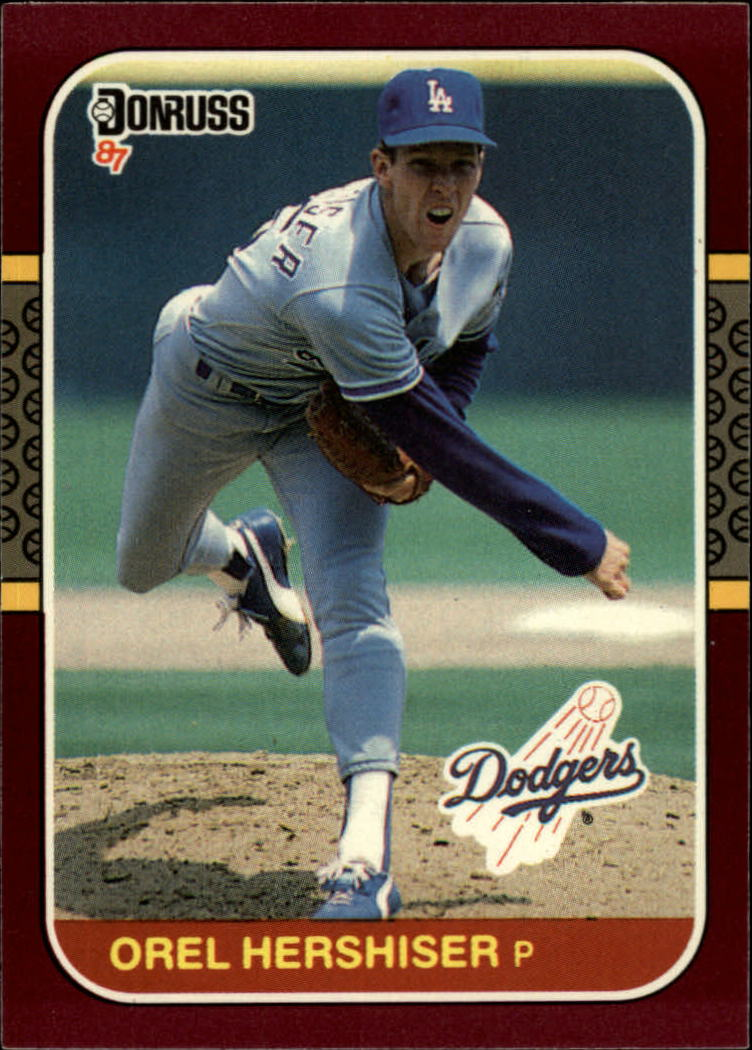 1987 Donruss Opening Day #79 Orel Hershiser