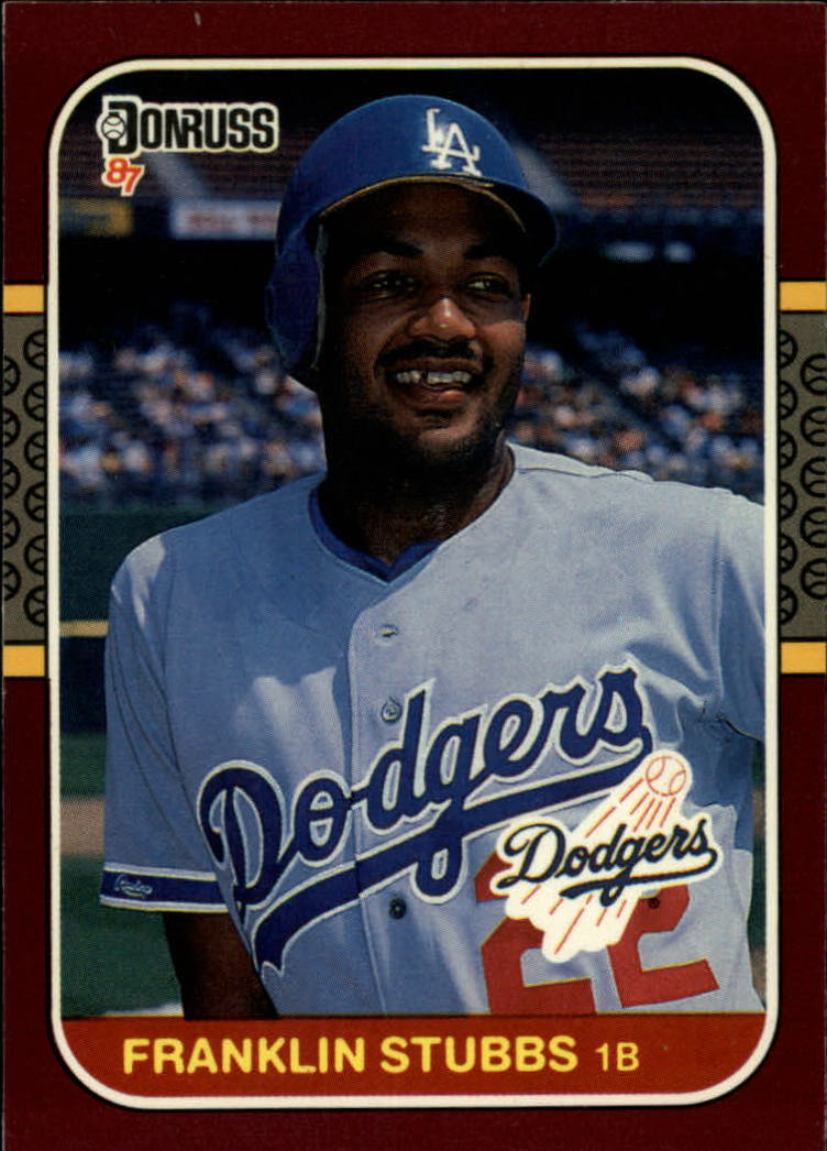 1987 Donruss Opening Day #83 Franklin Stubbs