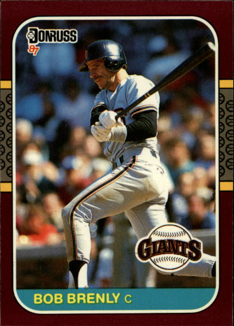 1987 Donruss Opening Day #95 Bob Brenly
