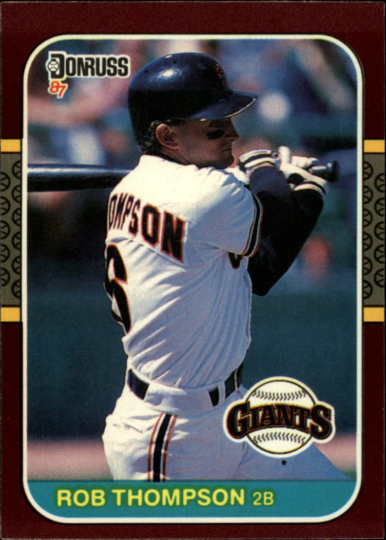 1987 Donruss Opening Day #101 Robby Thompson