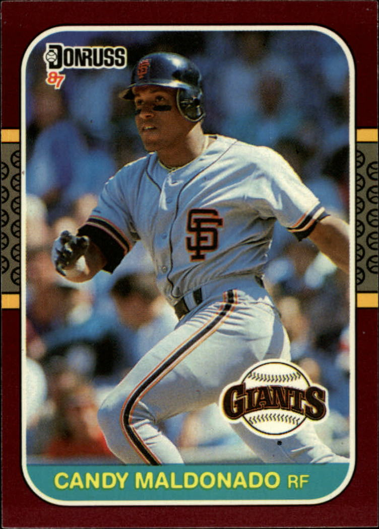 1987 Donruss Opening Day #102 Candy Maldonado