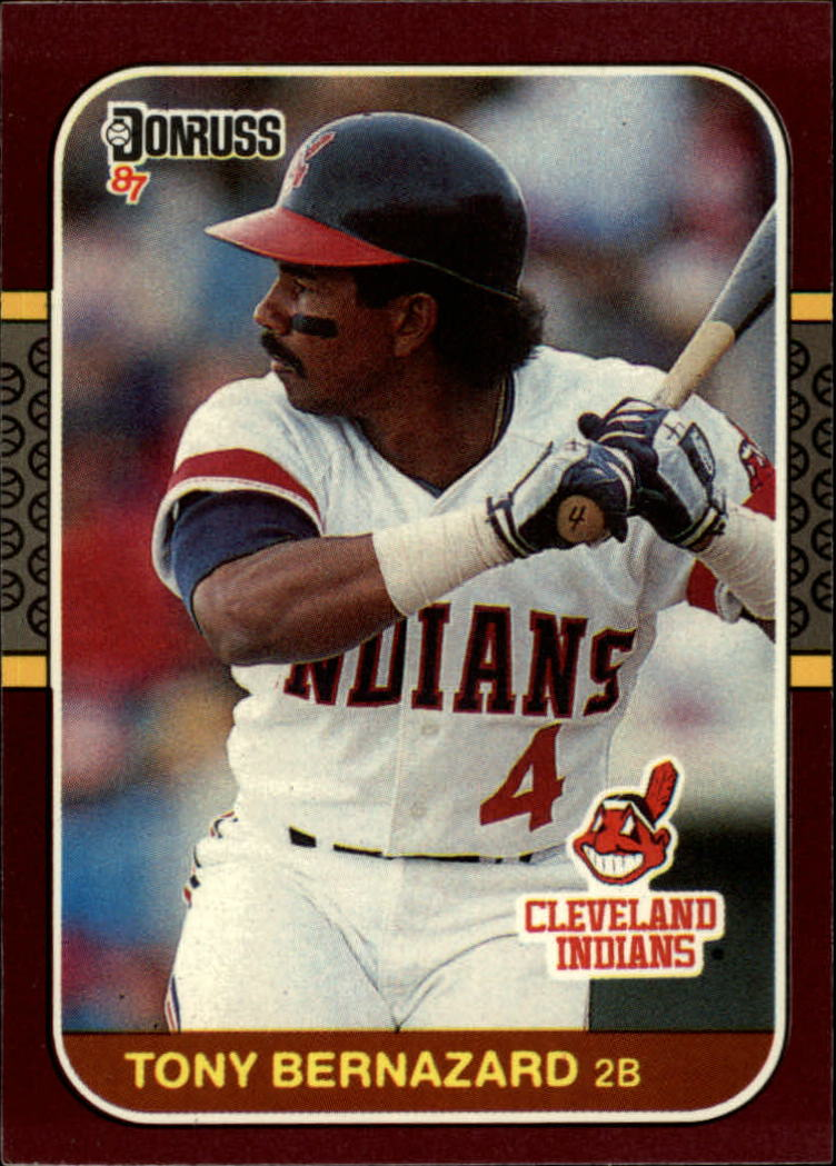 1987 Donruss Opening Day #110 Tony Bernazard front image