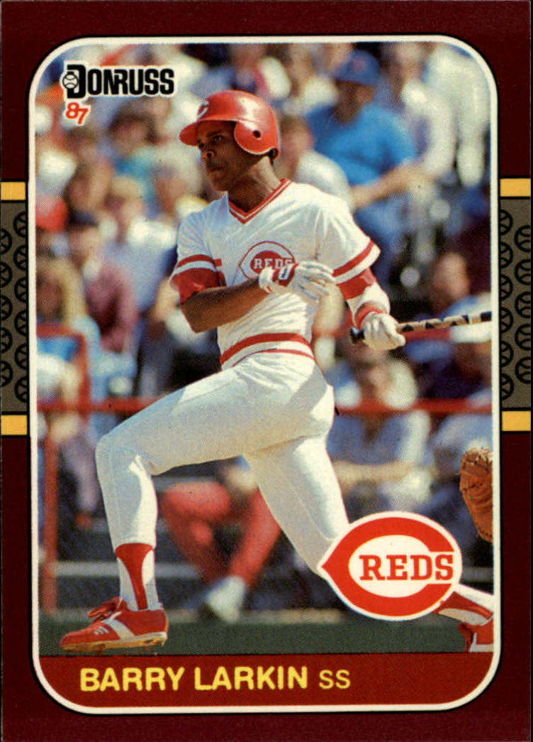 1987 Donruss Opening Day #191 Barry Larkin