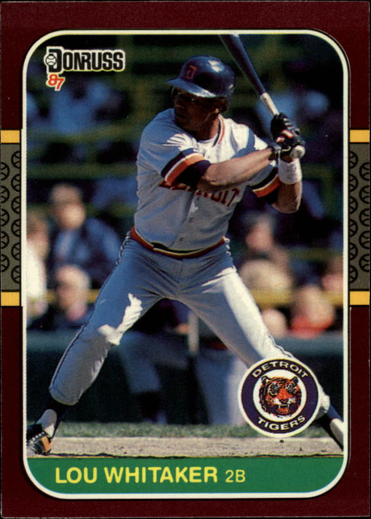 1987 Donruss Opening Day #218 Lou Whitaker