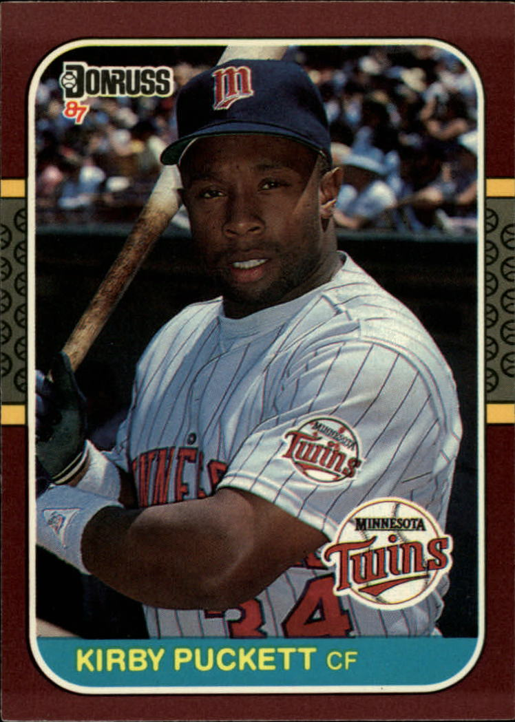1987 Donruss Opening Day #221 Kirby Puckett