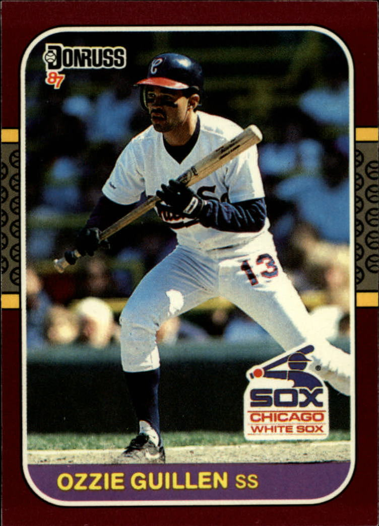 1987 Donruss Opening Day #235 Ozzie Guillen
