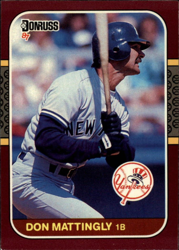 1987 Donruss Opening Day #241 Don Mattingly