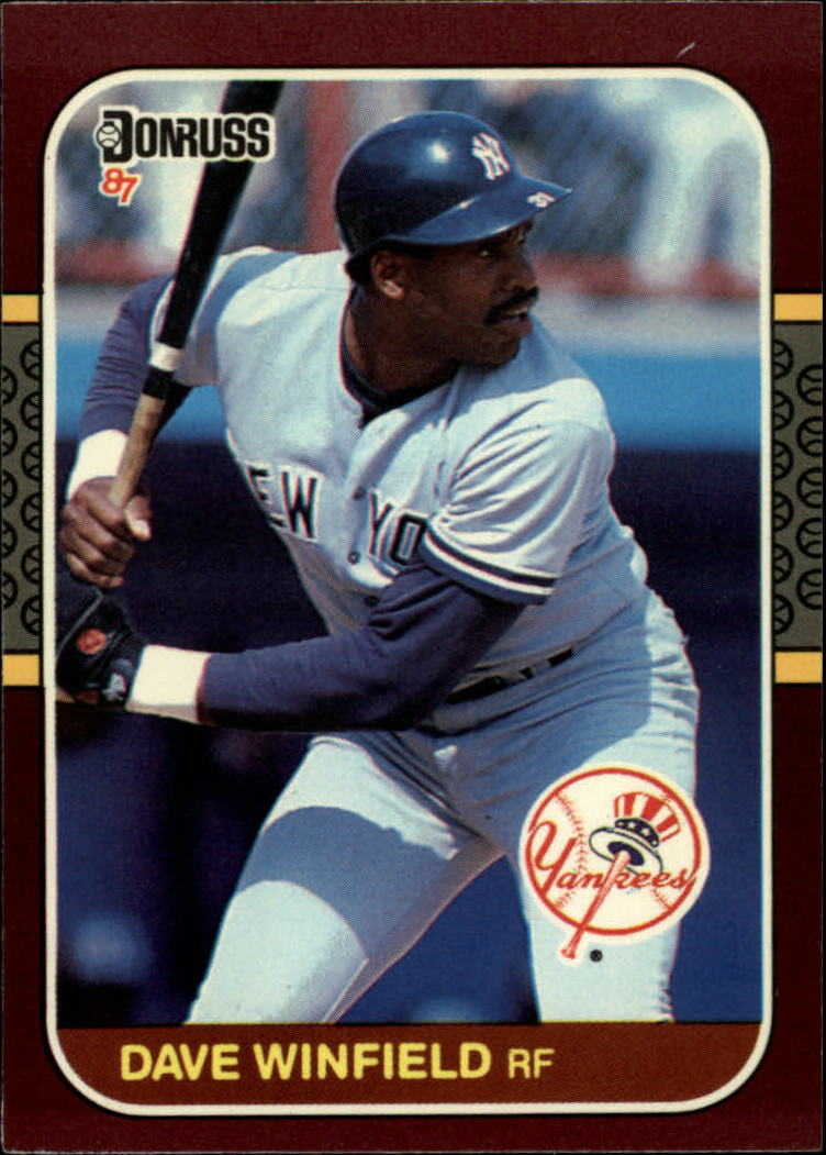 1987 Donruss Opening Day #243 Dave Winfield