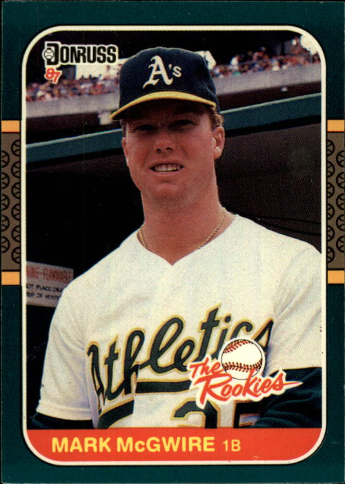 1987 Donruss Rookies #1 Mark McGwire
