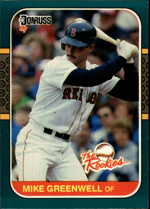 1987 Donruss Rookies #4 Mike Greenwell