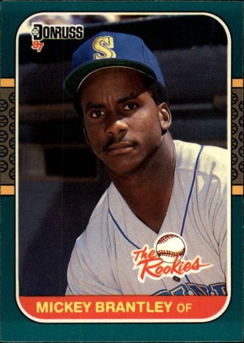 1987 Donruss Rookies #27 Mickey Brantley